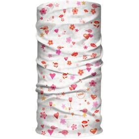 HAD Coolmax Sun Protection Loop Sjaal Kinderen, wit/bont